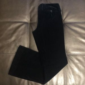 The Limited Velvet Drew Fit Trousers